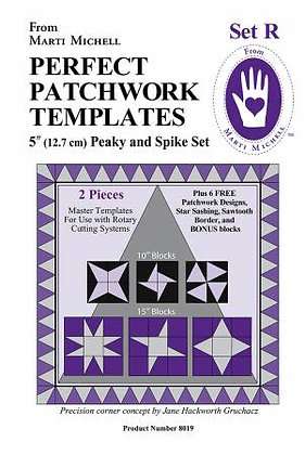 Set R - Perfect Patchwork Templates - Marti Michell