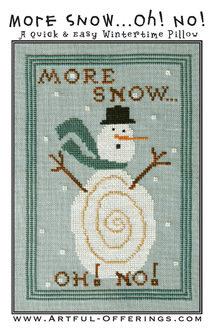 More Snow...oh! NO!