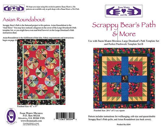 Scrappy Bear's Path & More Pattern - Marti Michell
