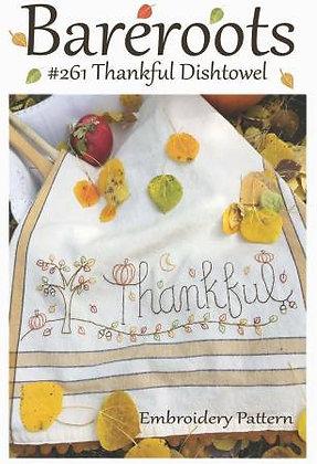 Bareroots #261 Thankful Dishtowel Kit