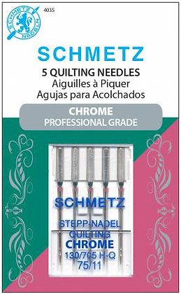 Schmetz Quilting Chrome Needles #75/11