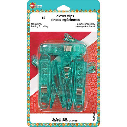 Heirloom Clever Clips - Large - 12 pcs.