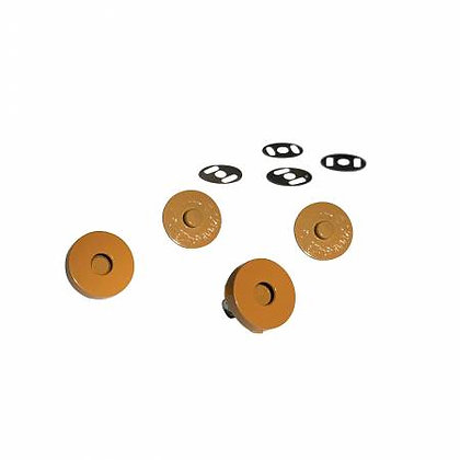 "Magnetic Snaps - 3/4"" - Mustard"