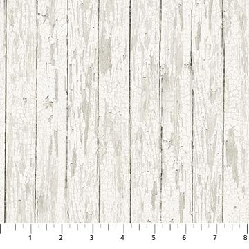 Lakeside Lodge FLANNEL - Distressed Wood - Pale Gray - 1/2 meter