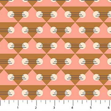 Treehouse - Pink - 1/2 meter