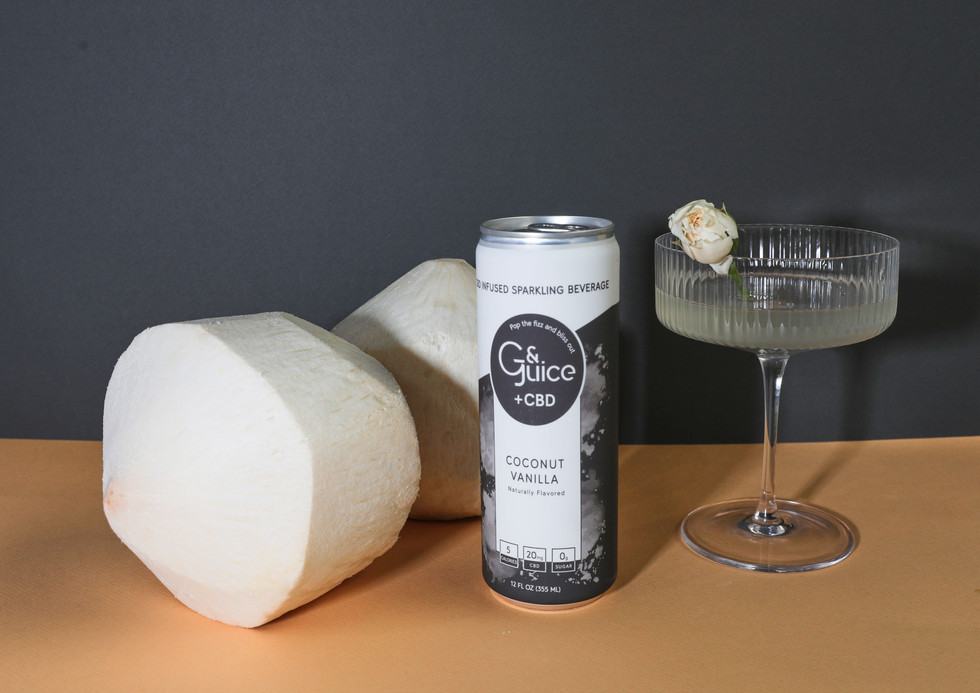 Packaging design for Coconut Vanilla flavour