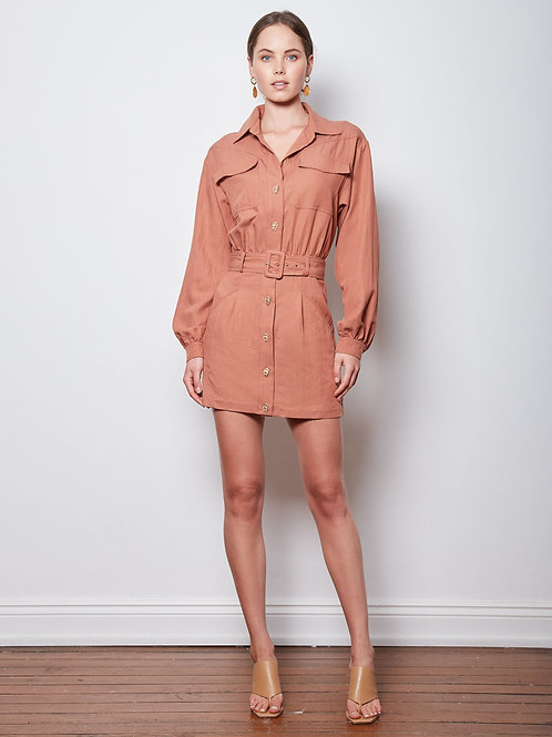 Wish The Label Unmatched Shirt Dress
