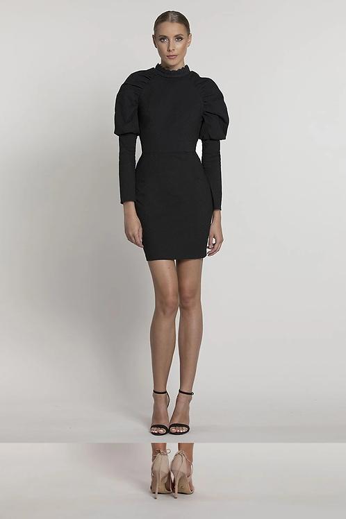 Bariano Janet High Neck Mini Dress