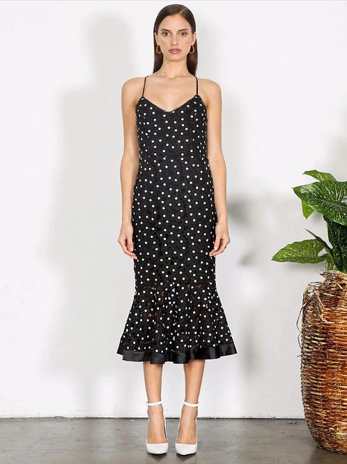 Shilla The Label Element Flora Lace Midi Dress