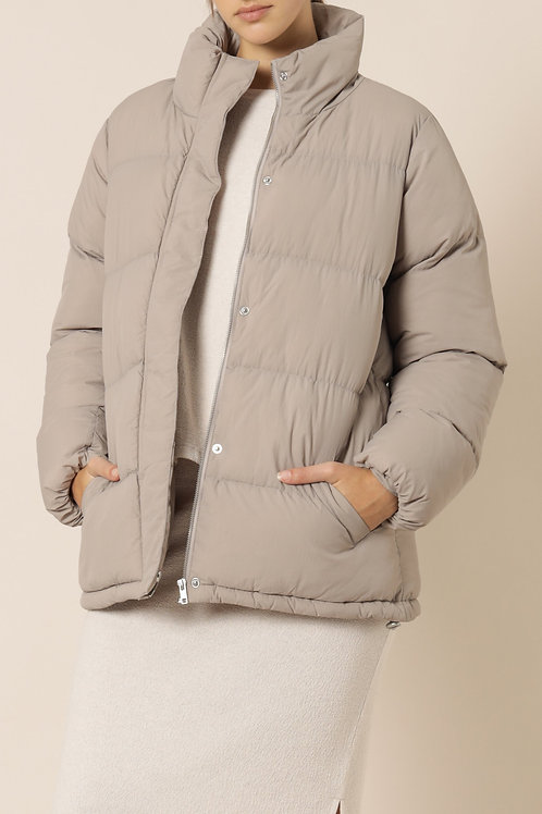 Nude Lucy Topher Longline Puffer Jacket