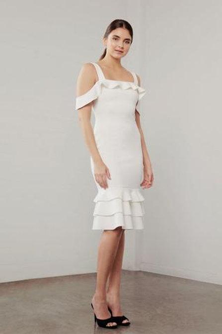 Shilla The Label Utopia Strap Tier Dress