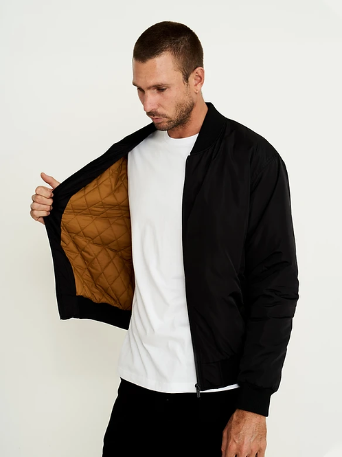 Mr Simple Technical Bomber Jacket