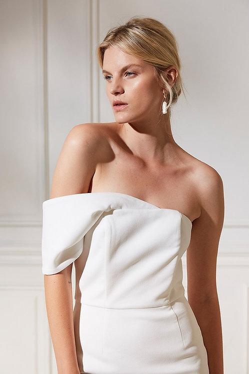 Friend Of Audrey James Harriet Midi Dress
