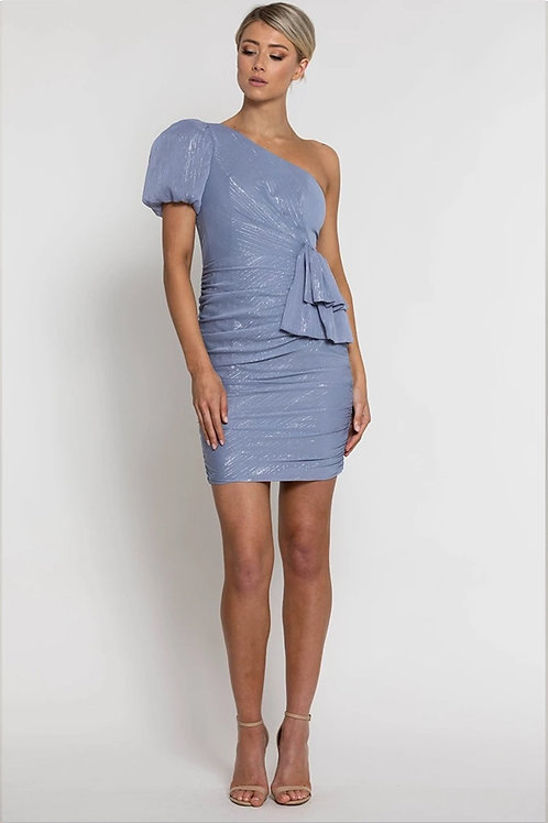 Lumier By Bariano Monique One Shoulder Mini Dress