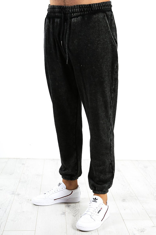 Silent Theory Silent Track Pant Washed Black