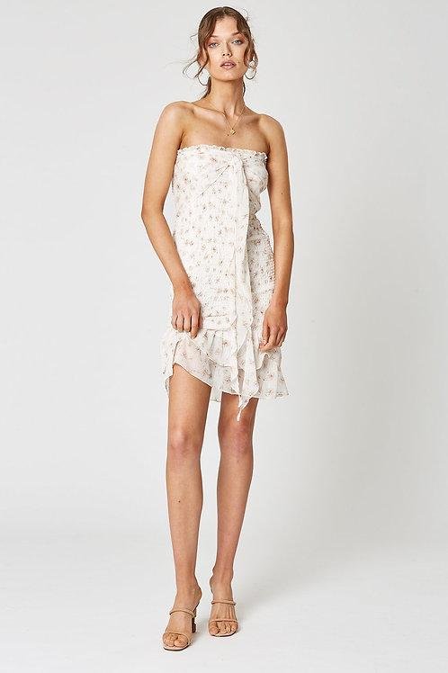 Winona Paperflower Tie Front Dress