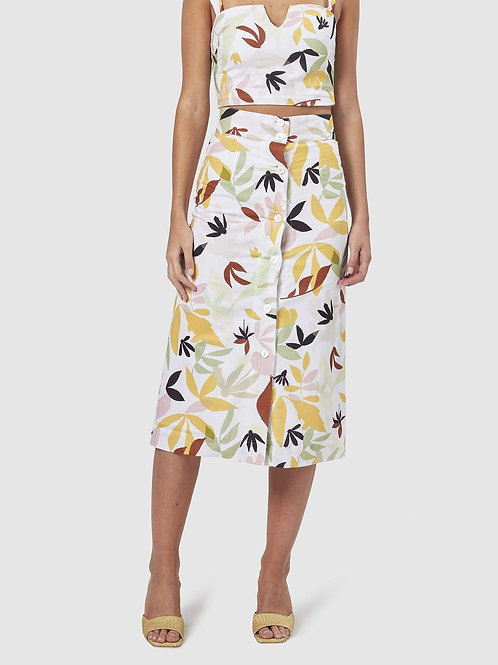 Charlie Holiday Palma Midi Skirt