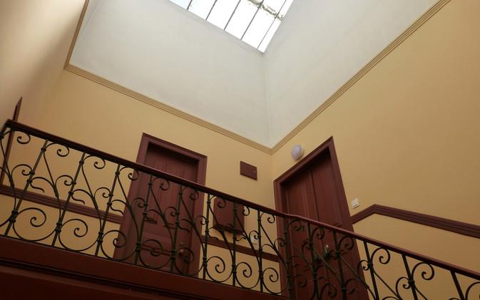 Dernier étage et sa verrière