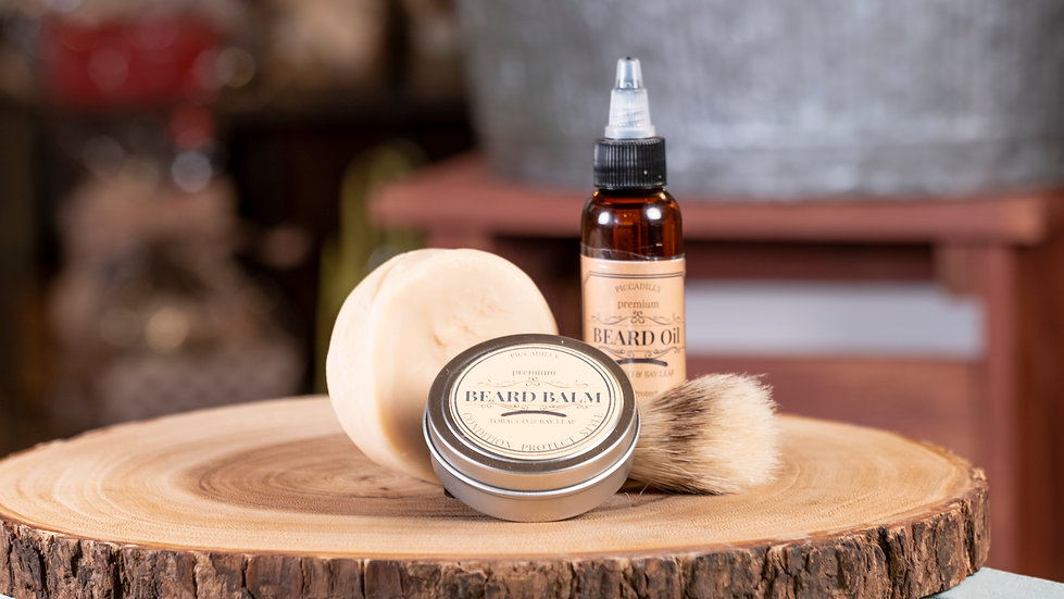 Beard Products - Tobacco & Bay Leaf