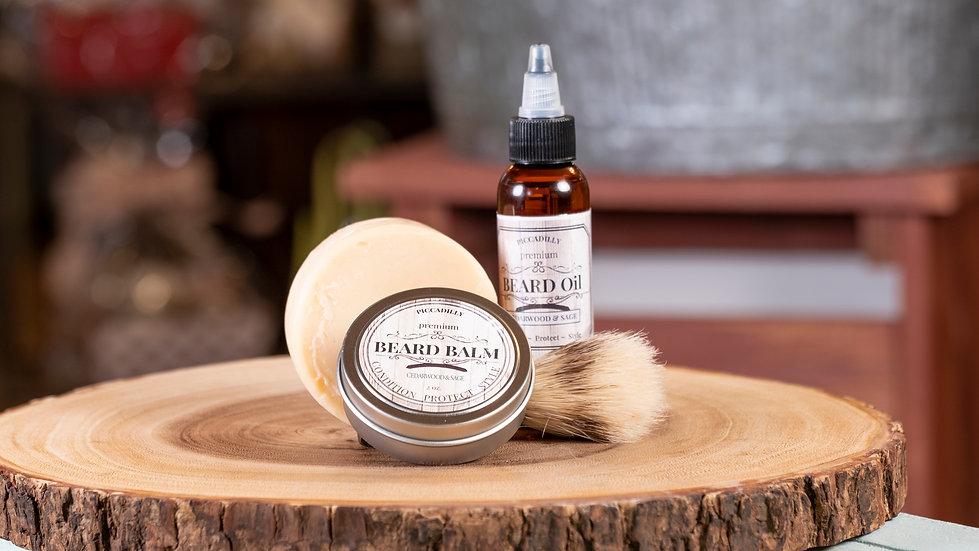 Beard Products - Cedarwood & Sage