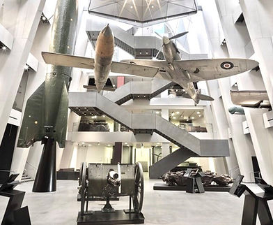 A staircase fittd by us at the imperial war museum london
