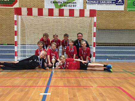 U10 drenge vinder VGIF Cup