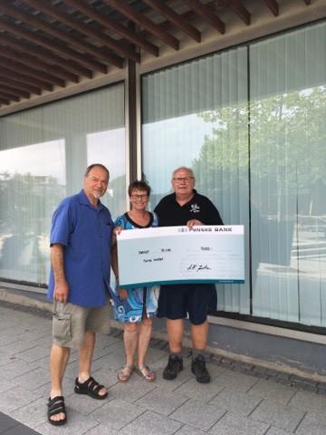 Banko støtter igen Børkop HK med 30.000 kr.