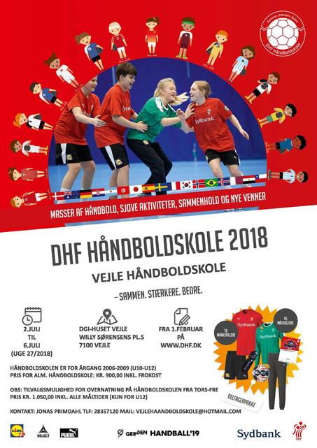 Kom på håndboldskole i Vejle