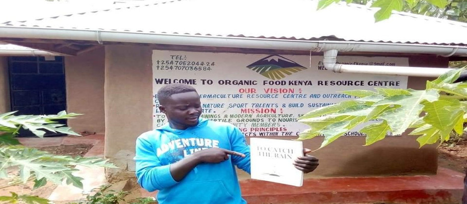 Organic Food Kenya; Raymond Orenda and The Orenda Foundation
