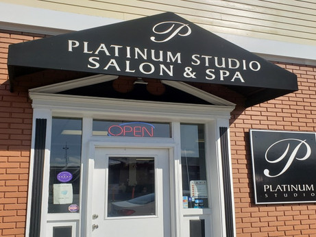 Platinum Studio Salon and Float Spa in Eureka, CA: Open For Business! My First Hair Cut in a Year :)