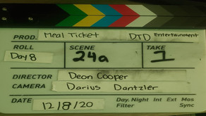 My First Experience in Film - Meal Ticket Production Update
