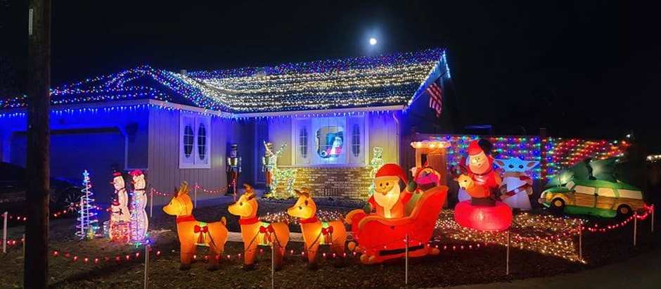 Mckinleyville Annual Christmas Lighting Contest