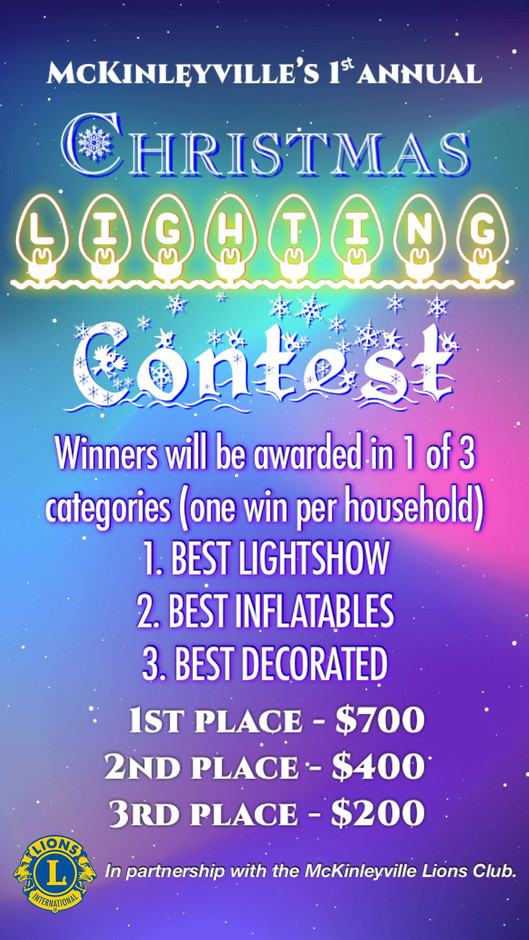 Updated Contest Flyer