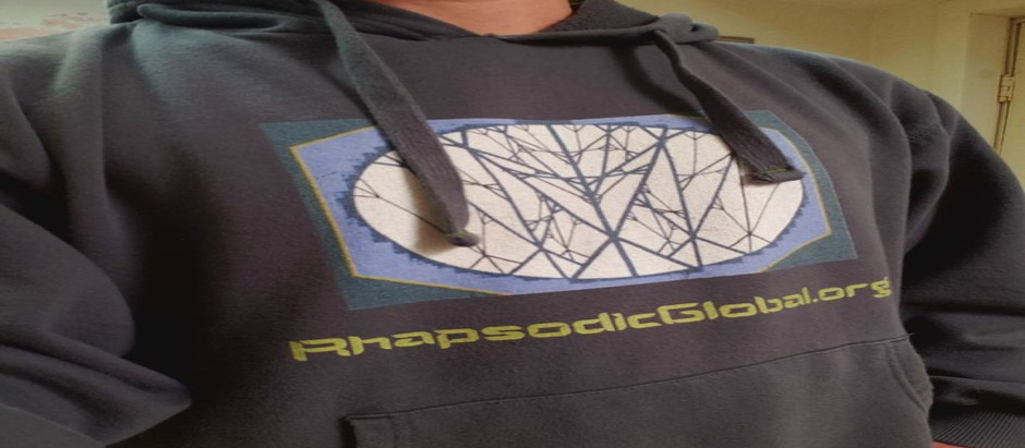 Inviting Global Peace with The Peace Sign Fractal: Hoodies for Sale in Time for Winter