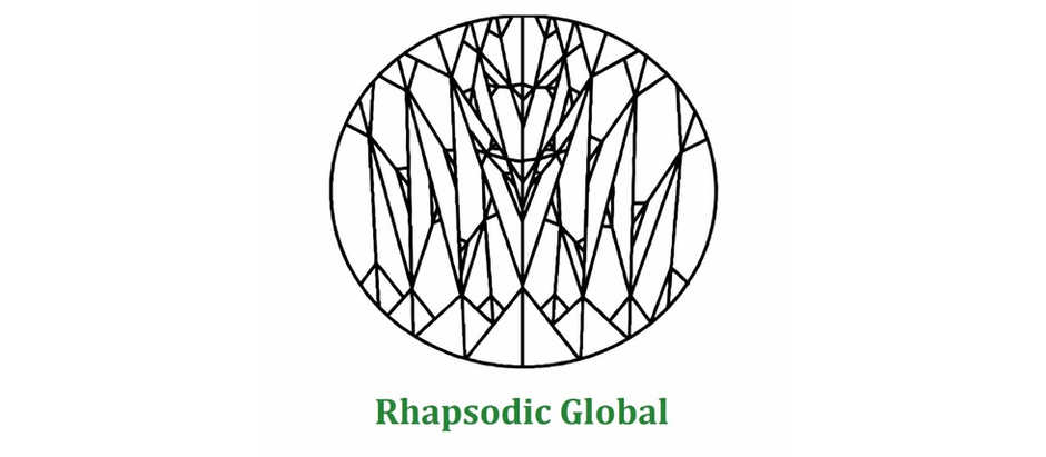 Peace Sign Fractal by Anthony DeLuca (Rhapsodic Global logo)
