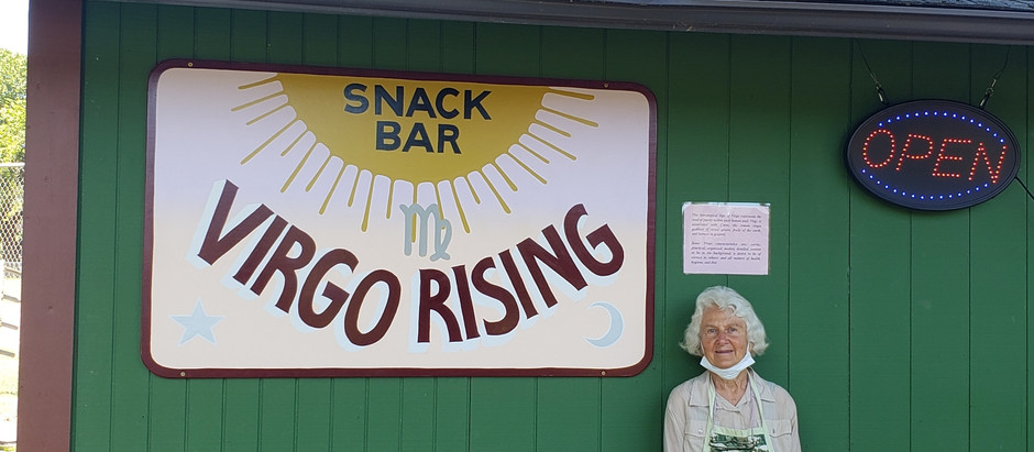 Virgo Rising: Small Healthy Lunch Option in Blue Lake, CA, Raising Funds for Blue Lake Parks and Rec