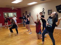 Improv troupe silliness :)