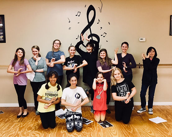 Mary Poppins Workshop with Catherine Walker