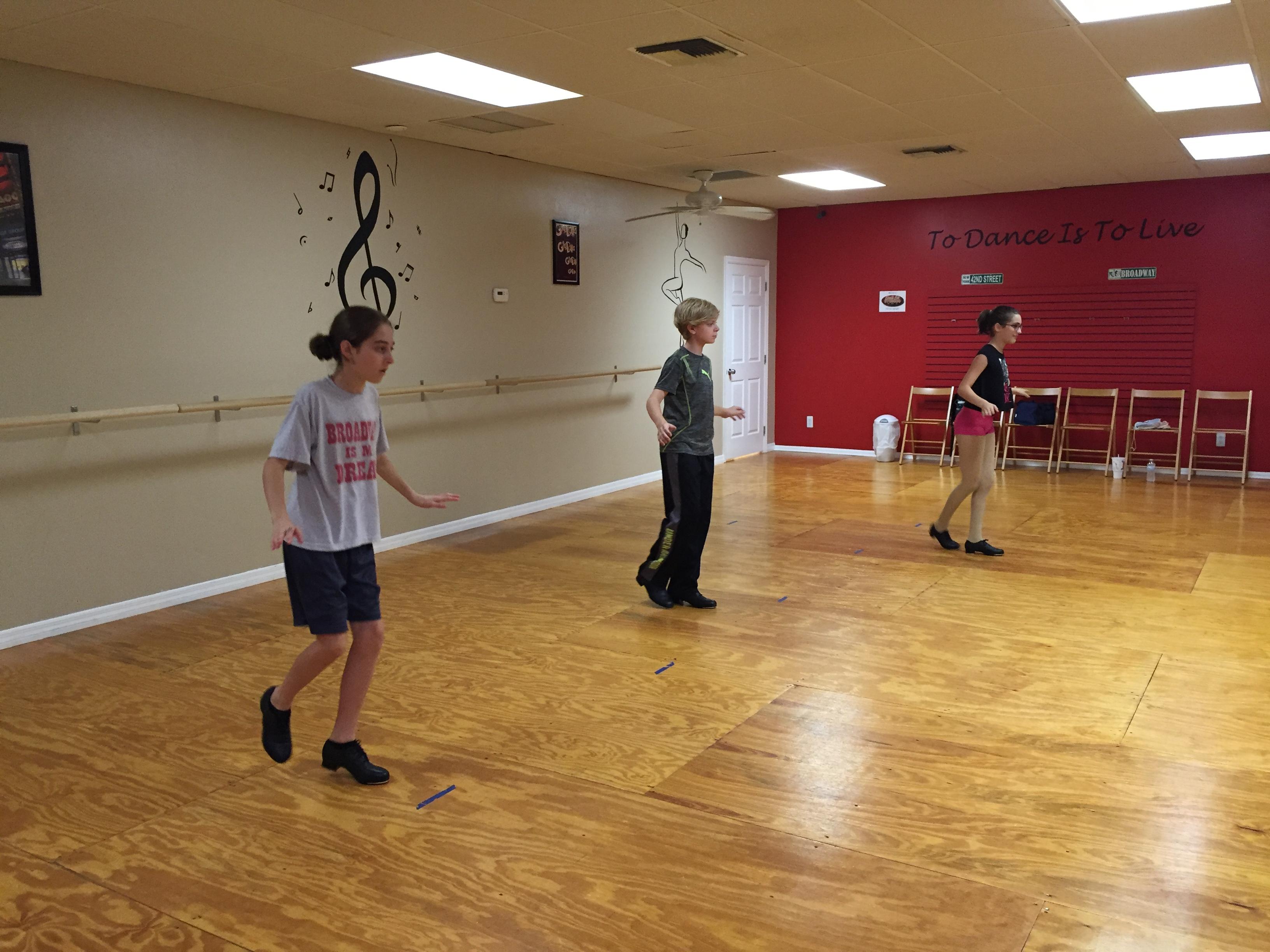 Broadway Tap Technique Class