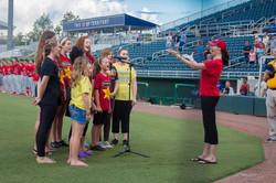 CCS singers- National Anthem