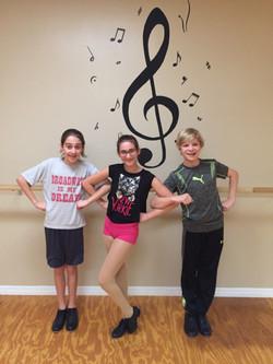 Dancers at CCS