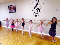 ballet barre time in Combo Dance!