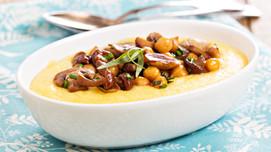 Recipe: Mushroom and Chickpea Stew