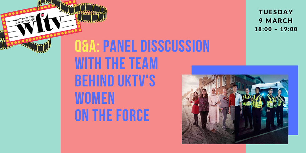 Q&A: Panel discussion with the team behind UKTV's Women on the Force
