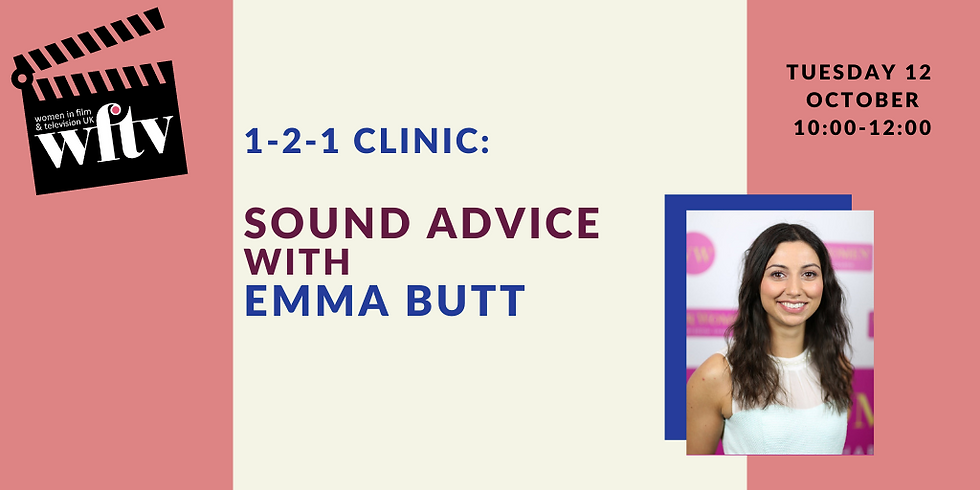 1-2-1 Clinic: Sound Advice with Emma Butt