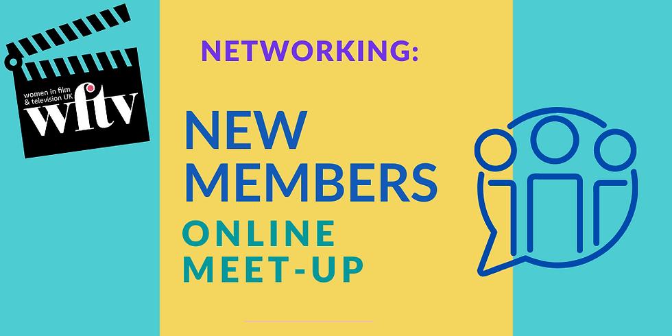 Networking: New Members Online Meet-up