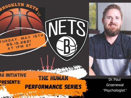 Sports Performance Series- Dr. Paul Groenewal