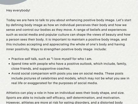 Enhancing Positive Body Image