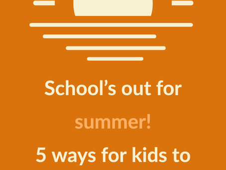 How to maintain good mental health for kids during summer break