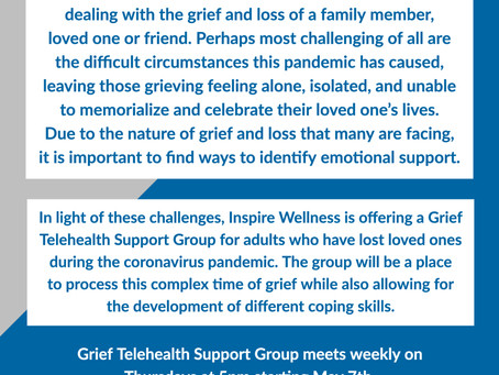 Grief Telehealth Support Group